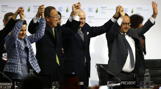 Θετικό βήμα προς την συνολική απεξάρτηση από τα ορυκτά καύσιμα η συμφωνία της Παγκόσμιας Διάσκεψης για το Κλίμα στο Παρίσι (COP21)